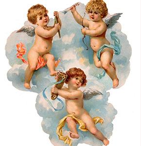 натяжные потолки с Ангеломи