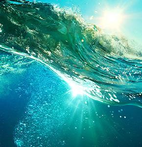 натяжные потолки подводный мир
